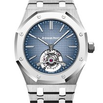 Audemars Piguet Royal Oak Tourbillon Titanium 41mm Blue No numerals United States of America, New York, New York