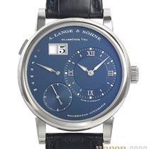A. Lange & Söhne Lange 1 White gold 39,5mm Blue Roman numerals