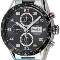 TAG Heuer Carrera Calibre 16 Steel 43mm Grey Arabic numerals United States of America, Texas, Austin