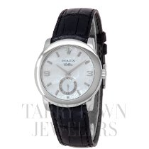 Rolex Cellini Platinum 35mm Mother of pearl Arabic numerals United States of America, New York, Hartsdale