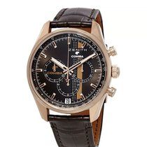 Zenith Rose gold Automatic Gold No numerals 42mm new El Primero Chronomaster