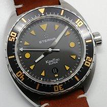 Eterna Steel 45mm Automatic 1273.41.49.1363 new