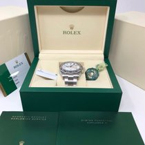 Rolex Steel Automatic White No numerals 42mm new Explorer II