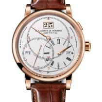 A. Lange & Söhne Richard Lange Rose gold 45.5mm Silver United States of America, Florida, Sunny Isles Beach