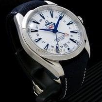 Omega Titanium Automatic White No numerals 43mm pre-owned Seamaster Aqua Terra