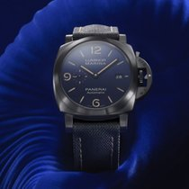 Panerai Luminor Marina neu 2019 Automatik Uhr mit Original-Box und Original-Papieren