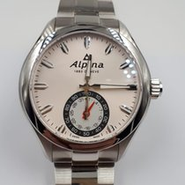Alpina Horological Smartwatch AL-285S5AQ6B Neu Stahl 44mm Quarz