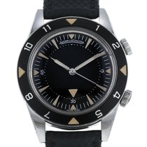 Jaeger-LeCoultre Memovox Tribute to Deep Sea Zeljezo 40.5mm Crn Bez brojeva