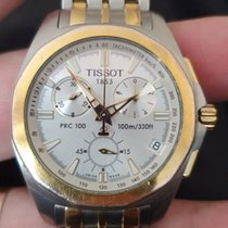 Tissot PRC 100 Steel 43mm White No numerals