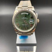 Rolex White gold 40mm Automatic 228239 new