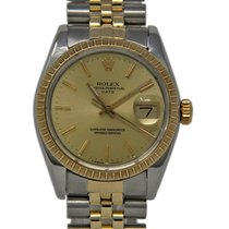Rolex 1505 Steel 1980 Oyster Perpetual Date 34mm pre-owned