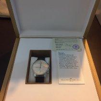 IWC Portuguese Chronograph usados 41mm Blanco Cronógrafo Doble cronógrafo Hebilla ardillón