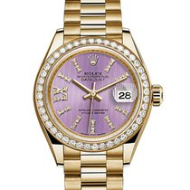 Rolex Datejust Lady President 18K Solid Gold Diamonds