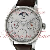 IWC Portuguese Perpetual Calendar, Silver Dial , Limited...