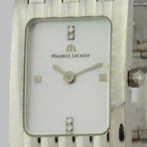 Maurice Lacroix Witgoud Automatisch Grijs Geen cijfers 18mm tweedehands Les Classiques
