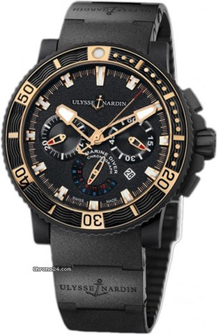 Ulysse Nardin Diver Black Sea 353-90.3C new