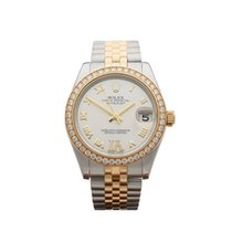 Rolex Datejust Original Diamond Bezel and Dial Stainless...