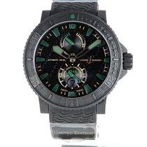 Ulysse Nardin Chronometer 45.8mm Automatik 2014 gebraucht Diver Black Sea Schwarz