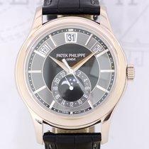 Patek Philippe Anual Calendar Jahreskalender 18K Weißgold grey...