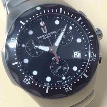 Universal Genève Compax Mens Stainless Steel Watch