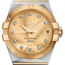Omega 123.20.38.21.58.001 Constellation Mens Automatic in...