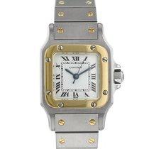 Cartier Santos en acier et or jaune Vers 1990