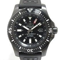 Breitling Superocean 44 Acero 44mm Negro Sin cifras