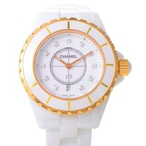 Chanel J12 White Quartz 38mm H2180