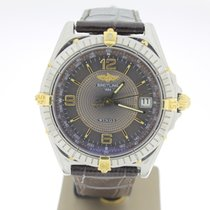 Breitling Windrider Steel/Gold BRONZE Dial (BOXonly2003) MINT...