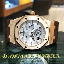Audemars Piguet Royal Oak Dual Time Rose Gold White 26120OR.OO...
