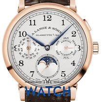 A. Lange & Söhne 1815 Rose gold 40mm Silver Arabic numerals
