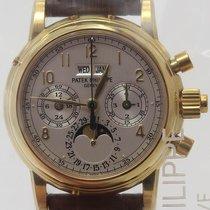 Patek Philippe 5004 J Yellow gold 2010 Perpetual Calendar Chronograph 37mm new
