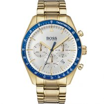 Hugo Boss Gold/Steel 44mm Quartz 1513631 new