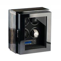 Paul Design Gentlemen 4 Black Shadow Uhrenbeweger mit Netzteil...