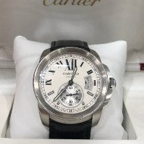 Cartier Calibre de Cartier Acero 42mm Blanco Romanos España, Madrid