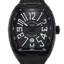 Franck Muller 44mm Automatic pre-owned Vanguard Black