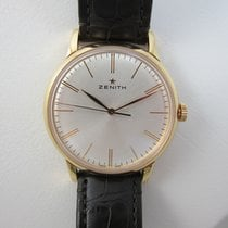 Zenith Elite 6150 Or rose 42mm Argent