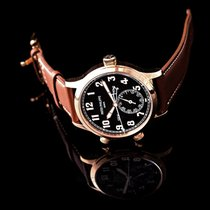 Patek Philippe Travel Time Rose gold 42mm Brown United States of America, California, San Mateo