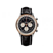 Breitling Navitimer 01 (46 MM) Gold/Steel 46mm Black United States of America, Iowa, Des Moines