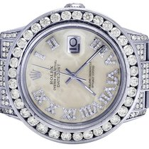 Rolex Datejust pre-owned 36mm Mother of pearl Date Steel