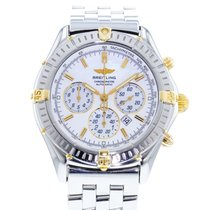 Breitling Shadow Flyback Stahl 38mm Silber