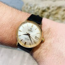 Omega Seamaster DeVille Yellow gold 35mm No numerals