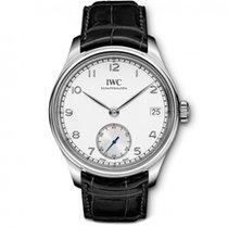 IWC Portuguese Hand-Wound Steel 43mm White Arabic numerals United States of America, New York, New York