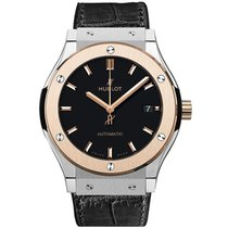 Hublot Classic Fusion 45, 42, 38, 33 mm Titanium 38mm Black