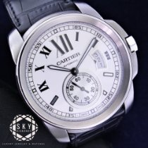 Cartier Calibre de Cartier Steel 42mm White Roman numerals United States of America, New York, NEW YORK