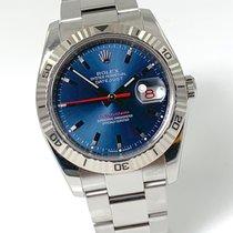 Rolex Datejust Turn-O-Graph Stahl 36mm Blau Keine Ziffern Deutschland, Rheinstetten - Karlsruhe