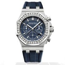 Audemars Piguet Royal Oak Offshore Lady Steel 37mm Blue No numerals United States of America, Iowa, Des Moines