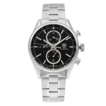TAG Heuer Carrera Calibre 1887 Steel 41mm Black No numerals United States of America, New York, NYC