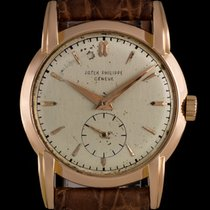Patek Philippe pre-owned Manual winding Small Seconds 33mm Rose gold Plastic