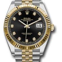 Rolex 126333 bkdj Gold/Stahl 2019 Datejust 41mm neu